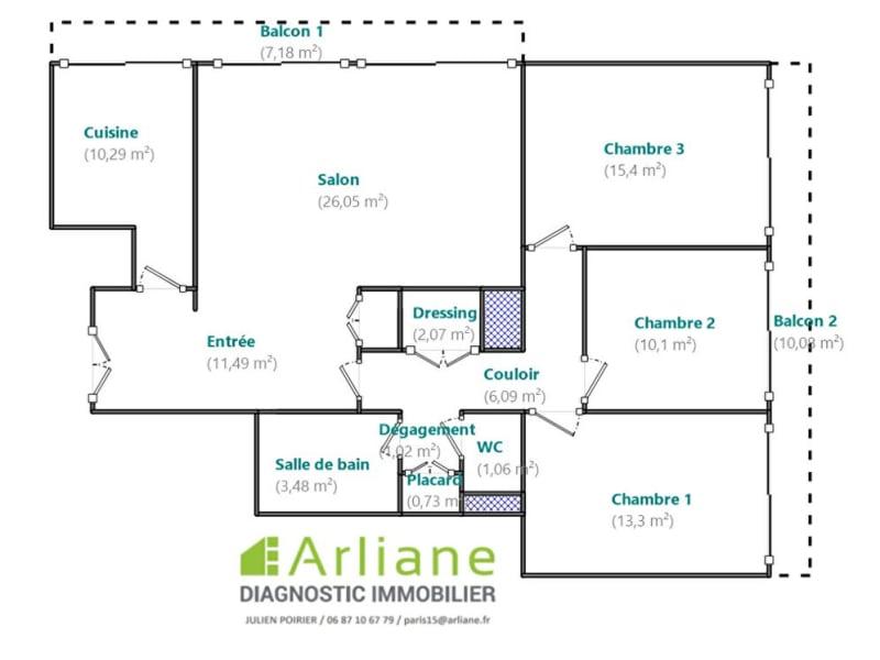 Deluxe sale apartment Boulogne billancourt 899000€ - Picture 10