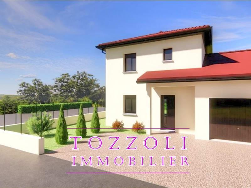 Vente maison / villa Saint romain de jalionas 312558,25€ - Photo 1
