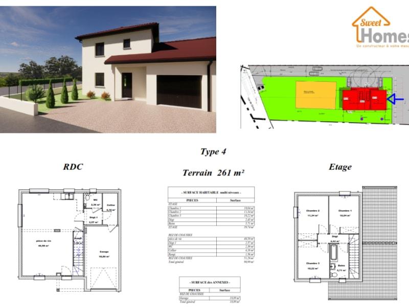 Vente maison / villa Saint romain de jalionas 312558,25€ - Photo 2