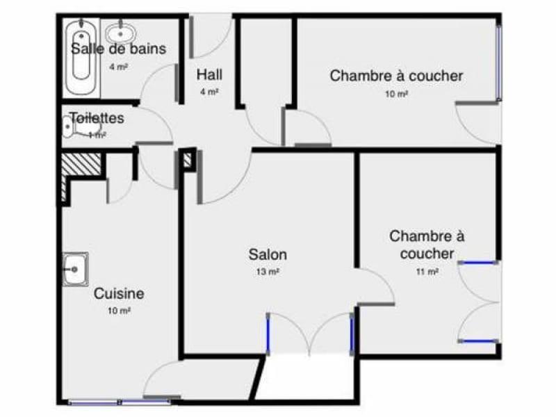 Location appartement Palaiseau 898€ CC - Photo 1