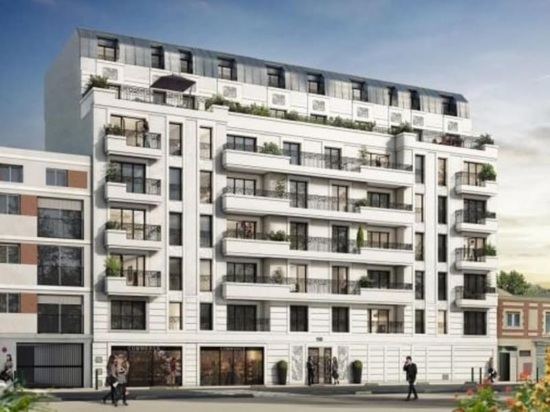 Rental apartment St ouen 1215€ CC - Picture 1