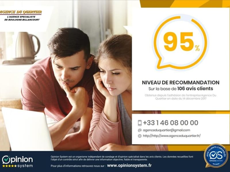 Rental apartment Boulogne billancourt 670€ CC - Picture 4