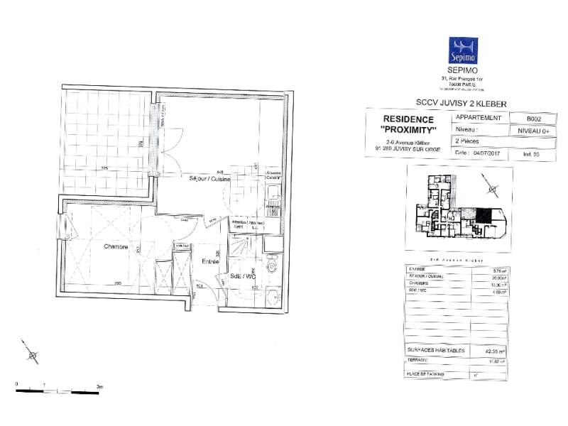 Rental apartment Juvisy sur orge 840€ CC - Picture 2