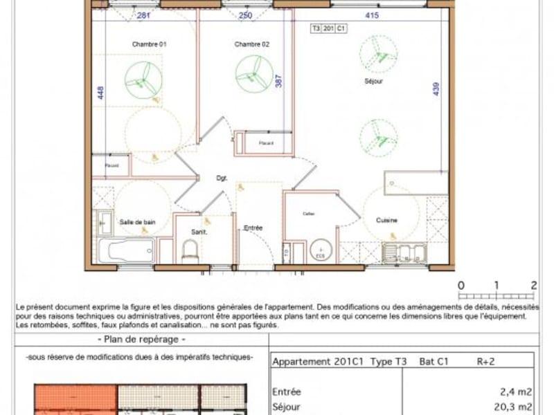 Location appartement St denis 795€ CC - Photo 6