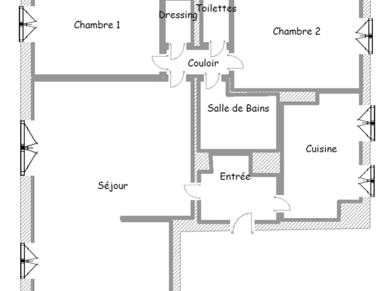 Sale apartment Paris 627000€ - Picture 9