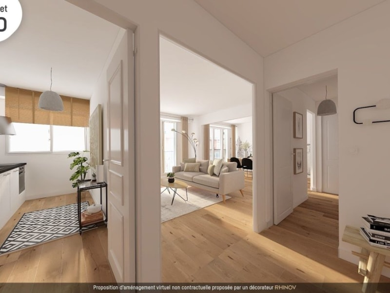 Sale apartment Paris 563000€ - Picture 1
