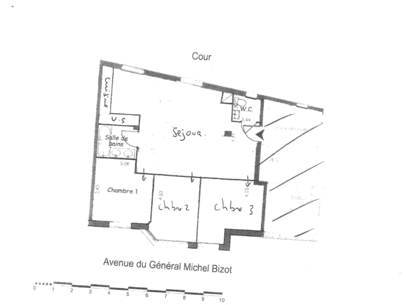 Vente appartement Paris 12ème 816000€ - Photo 4