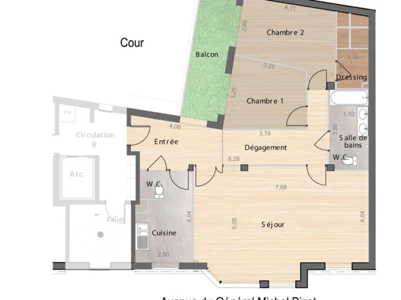 Vente appartement Paris 12ème 1116000€ - Photo 2