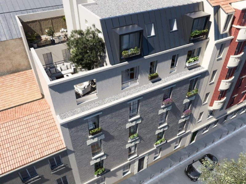 Vente appartement Paris 19ème 498883€ - Photo 1