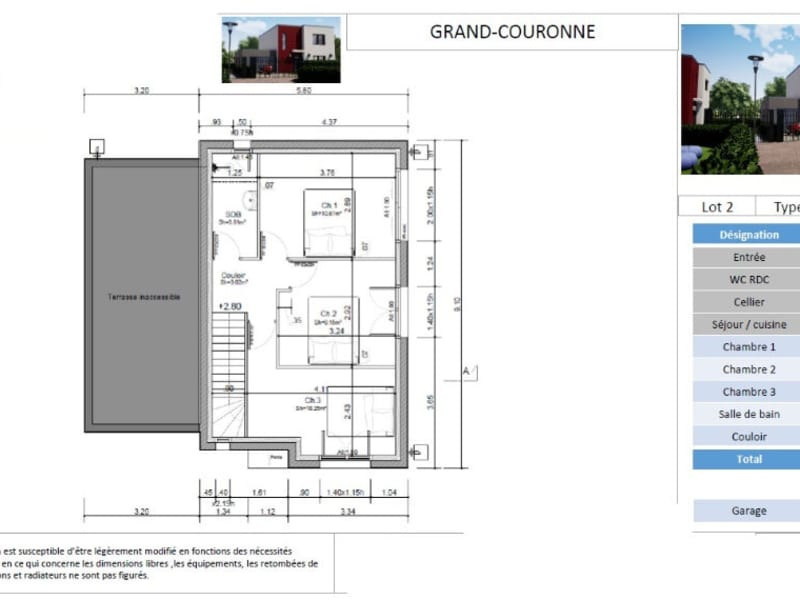 Verkauf haus Grand couronne 239900€ - Fotografie 5