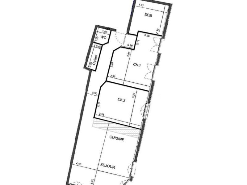 Sale apartment Rouen 237400€ - Picture 2
