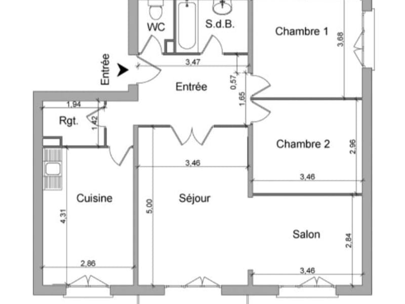 Location appartement Villefranche sur saone 654,83€ CC - Photo 6