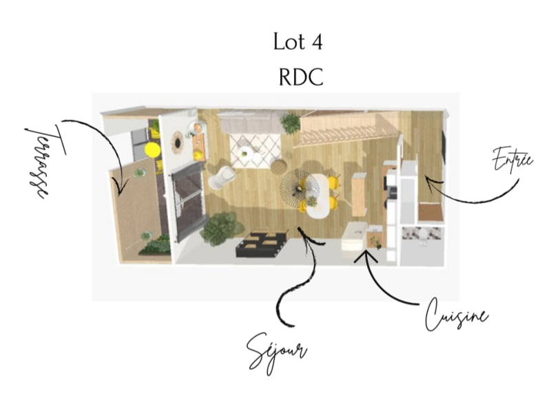 Verkauf wohnung Le grau du roi 298000€ - Fotografie 3