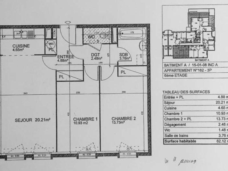 Rental apartment Bezons 1200€ CC - Picture 2