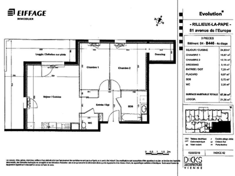 Rental apartment Rillieux la pape 840€ CC - Picture 9