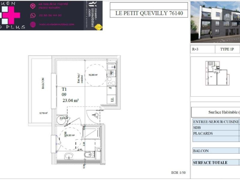 Sale apartment Le petit quevilly 106841€ - Picture 2