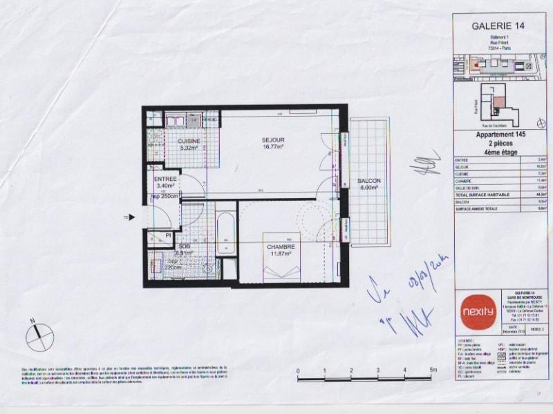 Sale apartment Paris 14ème 545000€ - Picture 13