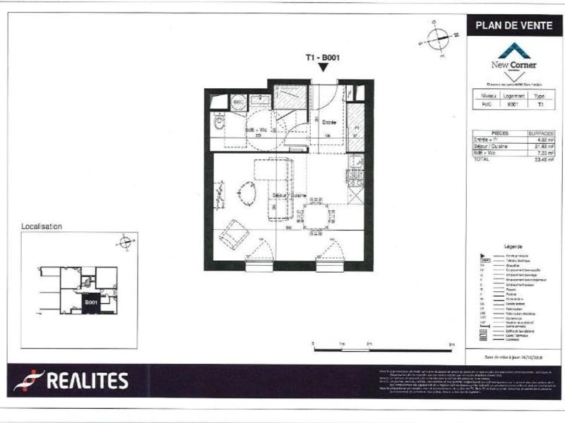 Appartement neuf Saint Herblain - 1 pièce(s) - 33.48 m2