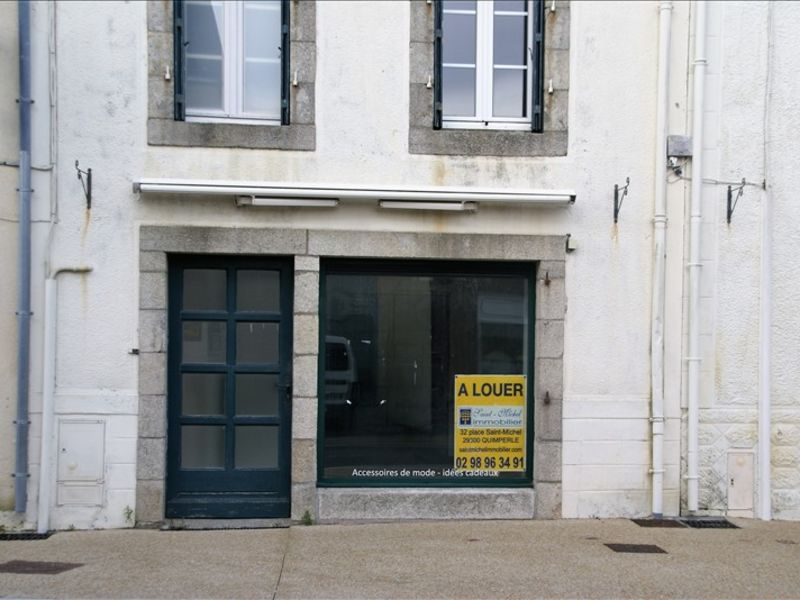 Location local commercial Moelan sur mer 380€ HC - Photo 1