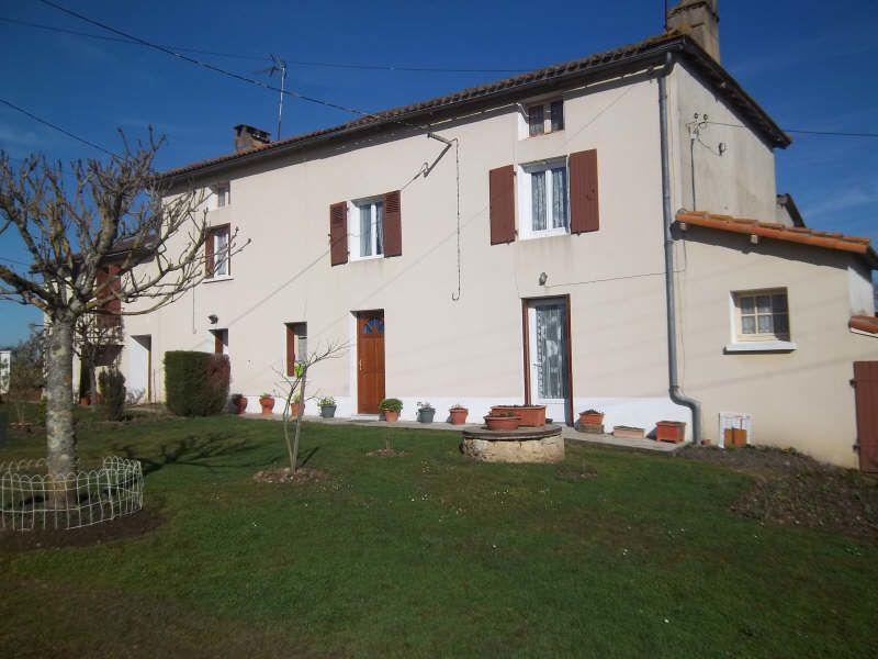 Vente maison / villa Queaux 121000€ - Photo 2