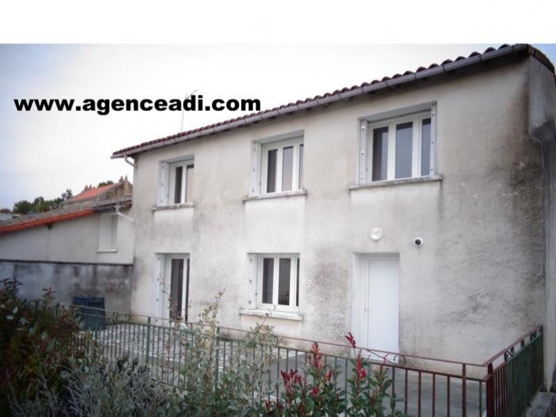 Vente maison / villa Nanteuil 90000€ - Photo 1