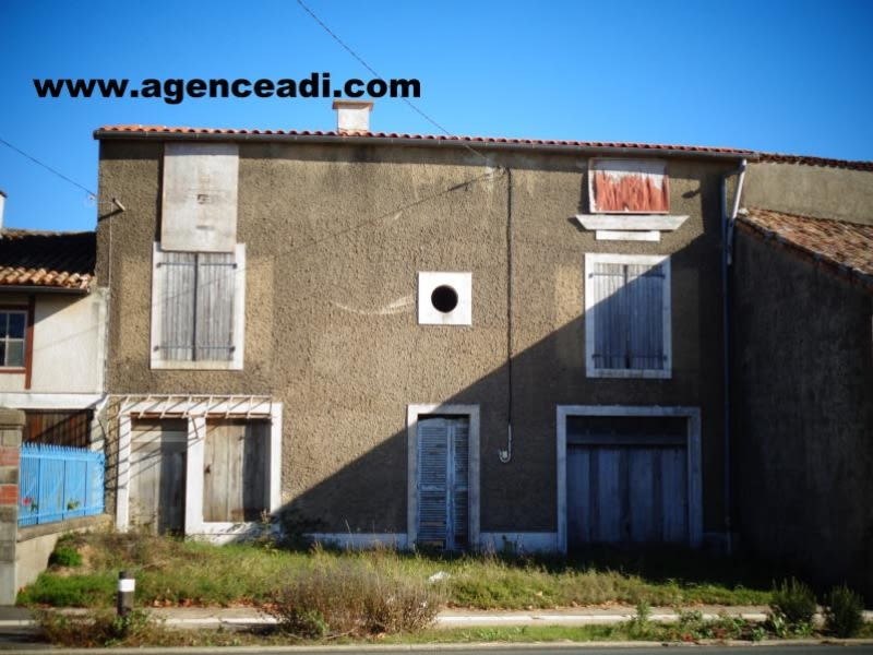 Vente maison / villa Pamproux 49 500€ - Photo 1