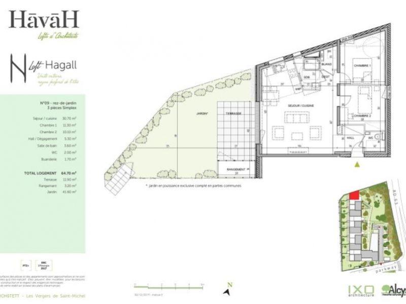 Sale apartment Reichstett 230000€ - Picture 4