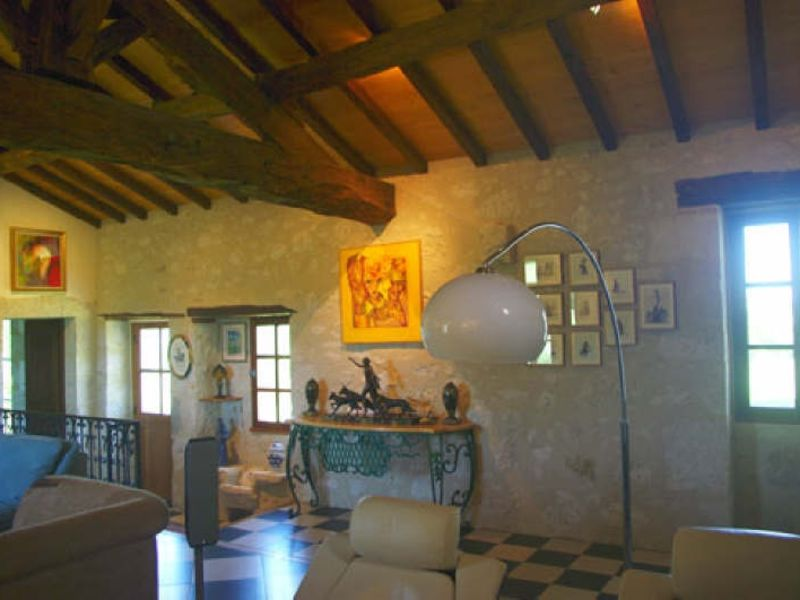 Sale house / villa La romieu 398000€ - Picture 7