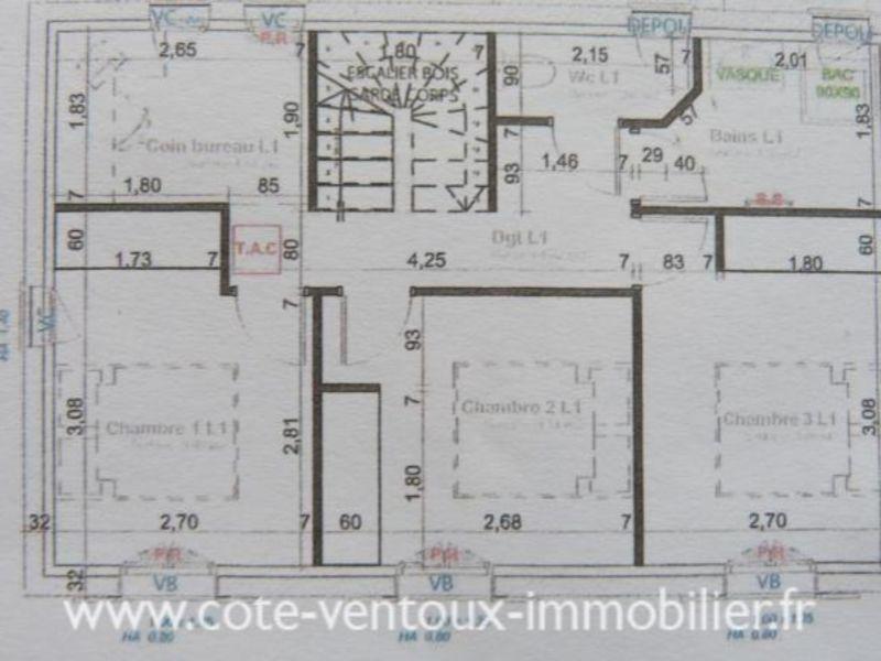 Vente maison / villa Blauvac 291500€ - Photo 5