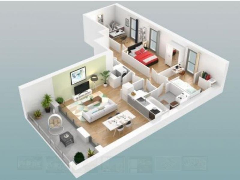 Vente appartement Poitiers 204000€ - Photo 3