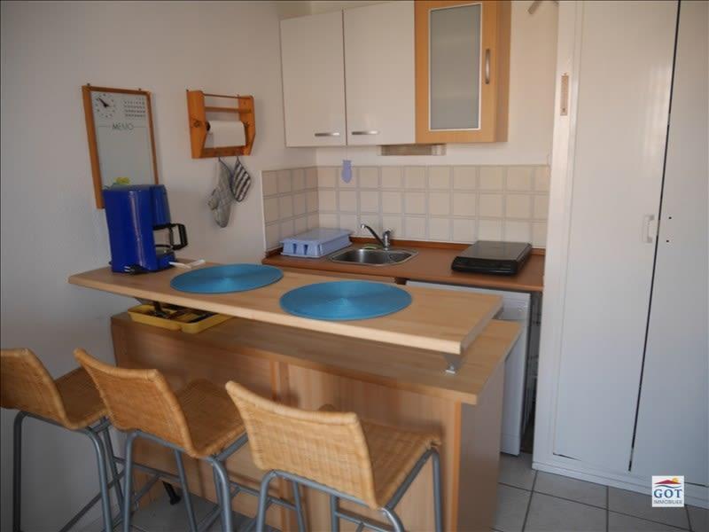 Verkoop  appartement Le barcares 70500€ - Foto 2