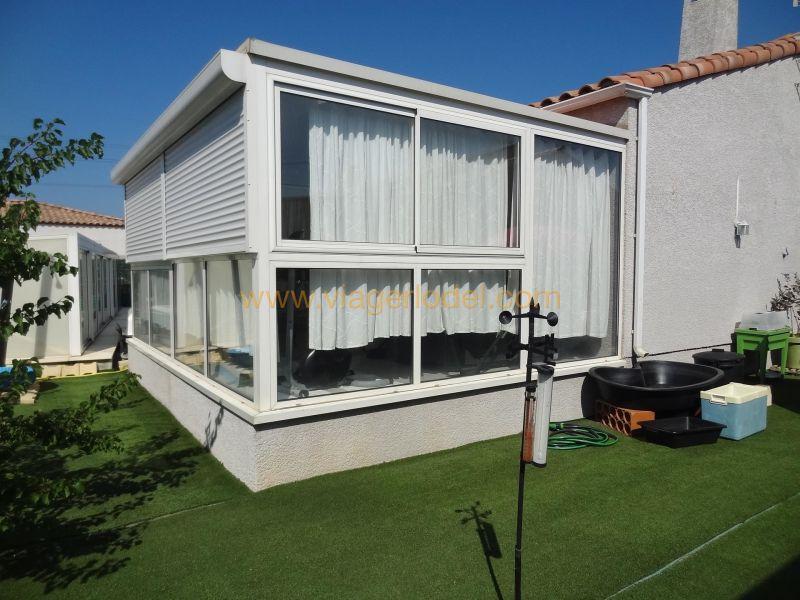 Vitalicio  casa Pépieux 97500€ - Fotografía 8