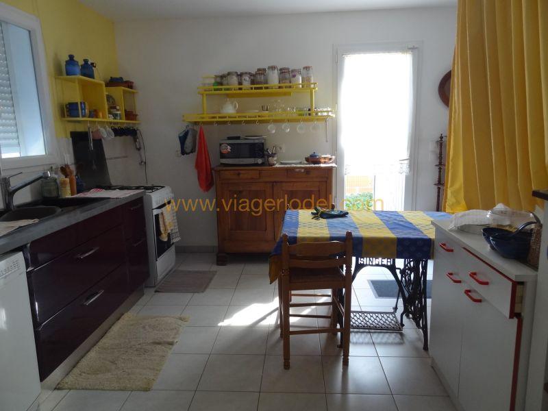 Vitalicio  casa Pépieux 97500€ - Fotografía 13