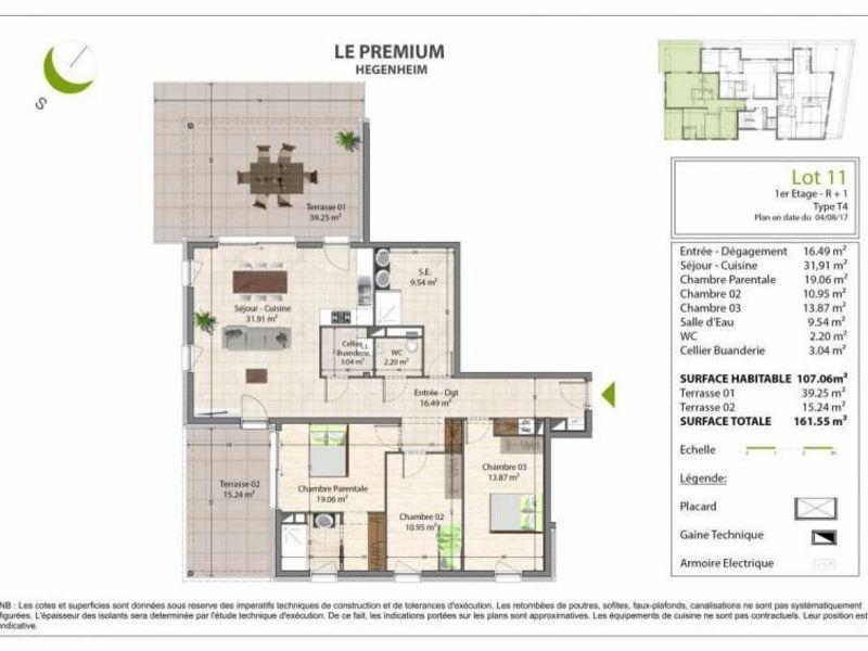 Vente appartement Hegenheim 295000€ - Photo 2