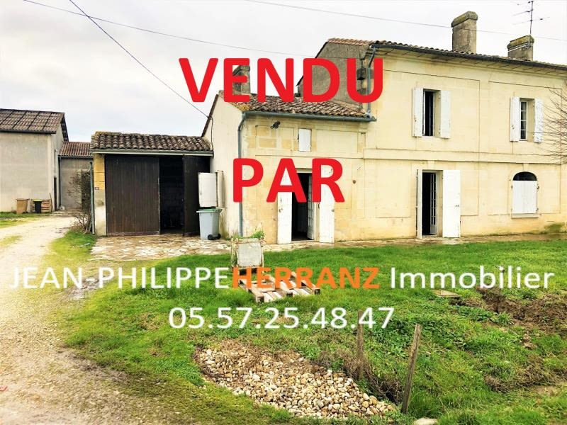 Sale house / villa Genissac 125000€ - Picture 1
