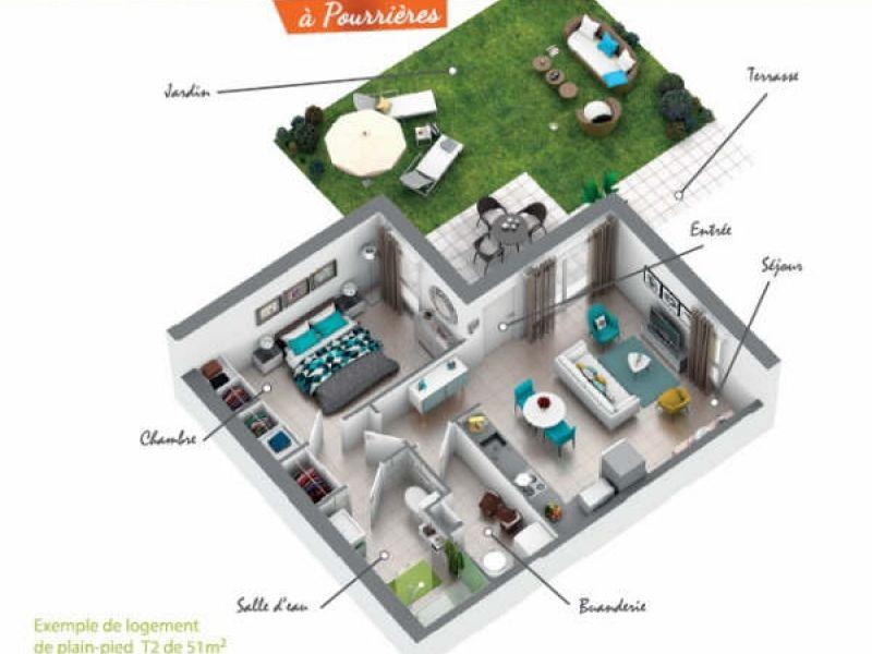 Vente de prestige maison / villa Pourrieres 195400€ - Photo 2