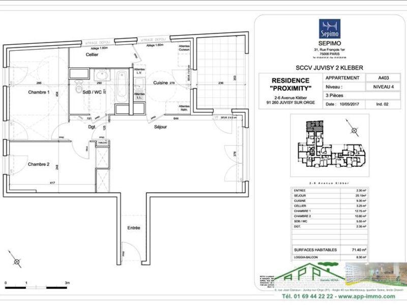 Sale apartment Juvisy sur orge 312000€ - Picture 4