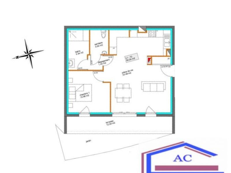 Vente appartement St just st rambert 159850€ - Photo 2