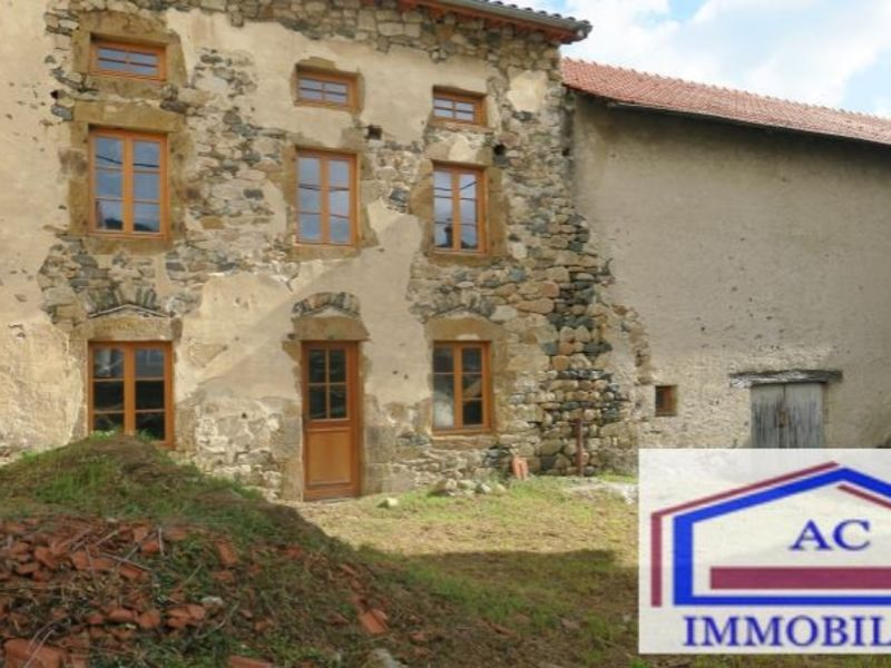 Vente maison / villa Retournac 60 000€ - Photo 1