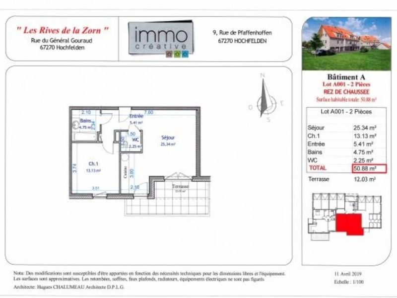 Vente appartement Hochfelden 153446€ - Photo 4