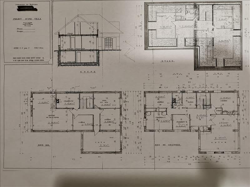 Sale house / villa Moirans 460000€ - Picture 3