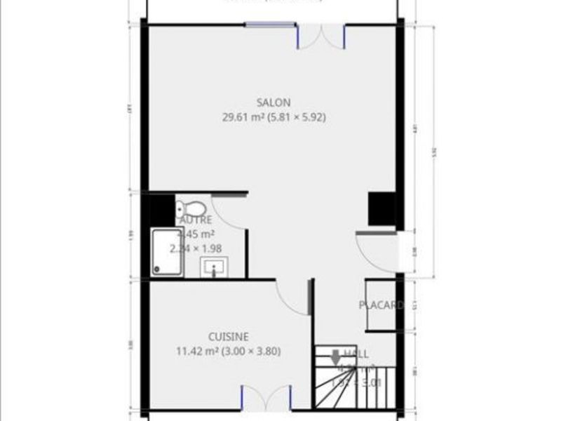 Sale apartment Grenoble 155000€ - Picture 6