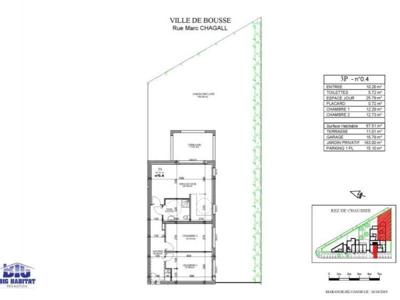 Sale apartment Bousse 205000€ - Picture 4