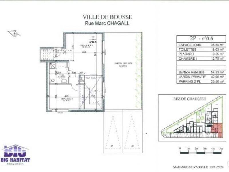 Sale apartment Bousse 145000€ - Picture 3