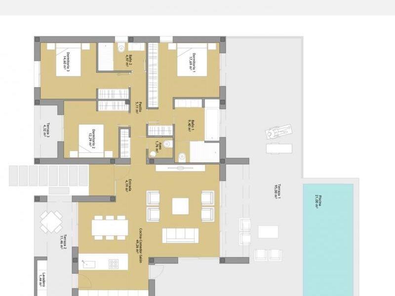 Deluxe sale house / villa Orihuela las colinas golf 695000€ - Picture 10