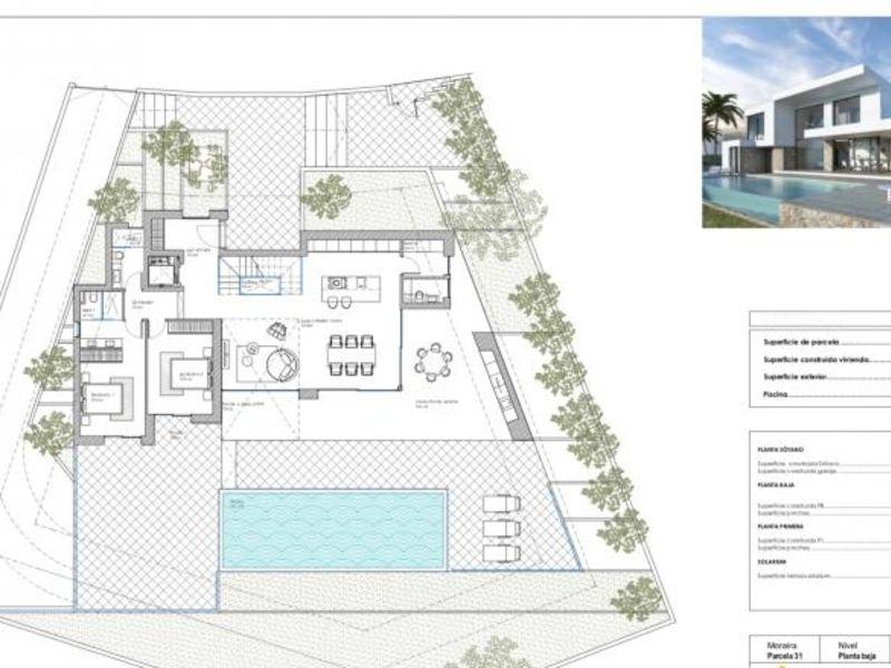 Deluxe sale house / villa Moraira province d?alicante 950000€ - Picture 9