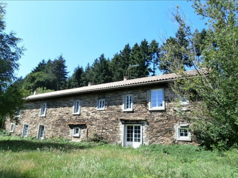 Vente maison / villa Mazamet montagne noire 200000€ - Photo 1