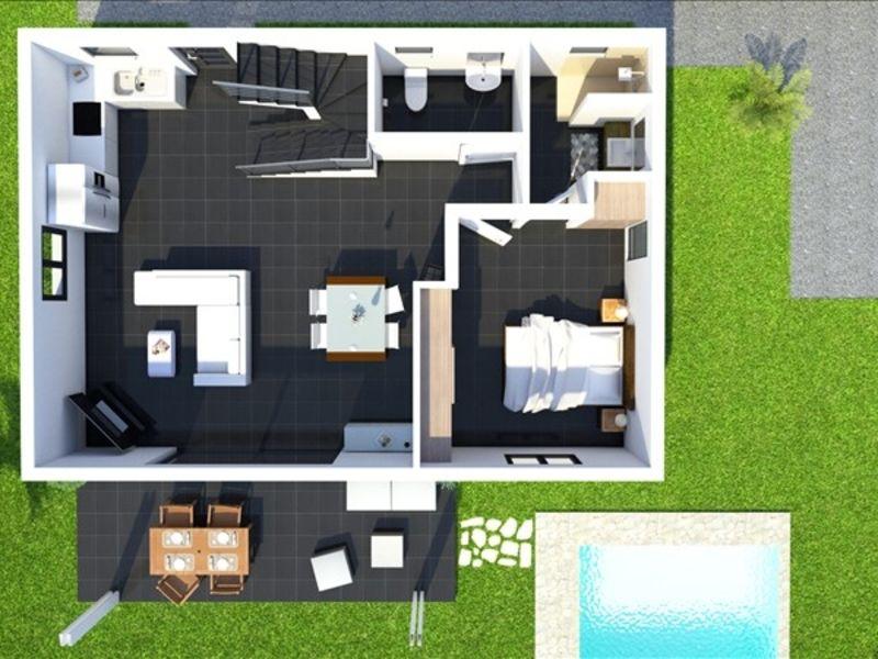 Vente maison / villa Les avirons 372000€ - Photo 6
