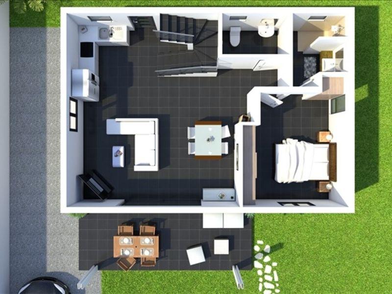Sale house / villa Les avirons 372000€ - Picture 6