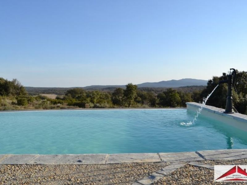 Deluxe sale house / villa St mathieu de treviers 3150000€ - Picture 1